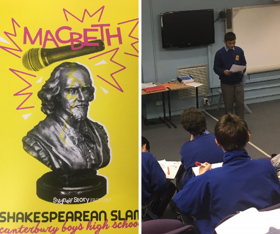 Our boys' are involved in a Poetry Extravaganza! Thank you
